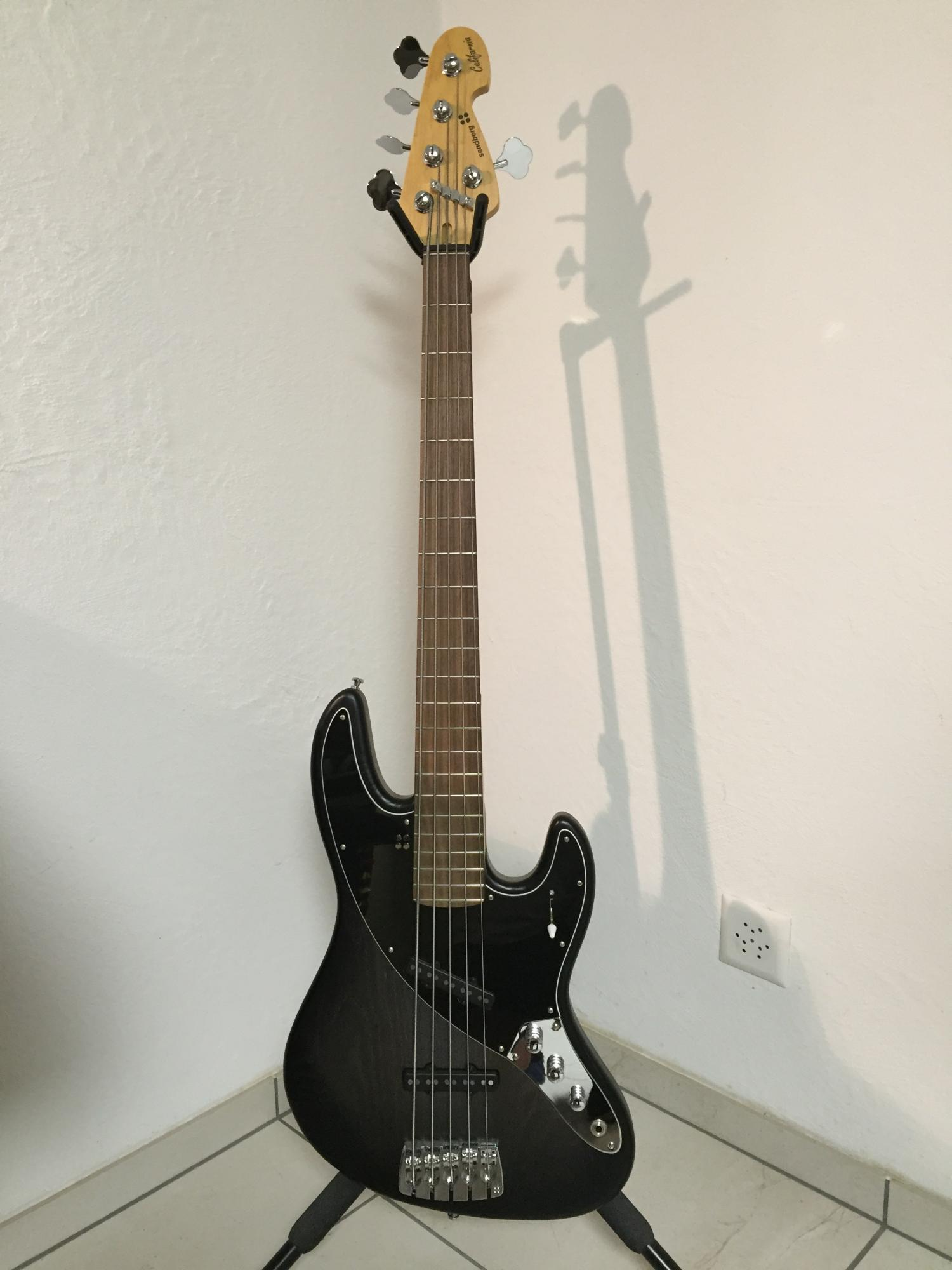 Sandberg California Umbo 4-string Black