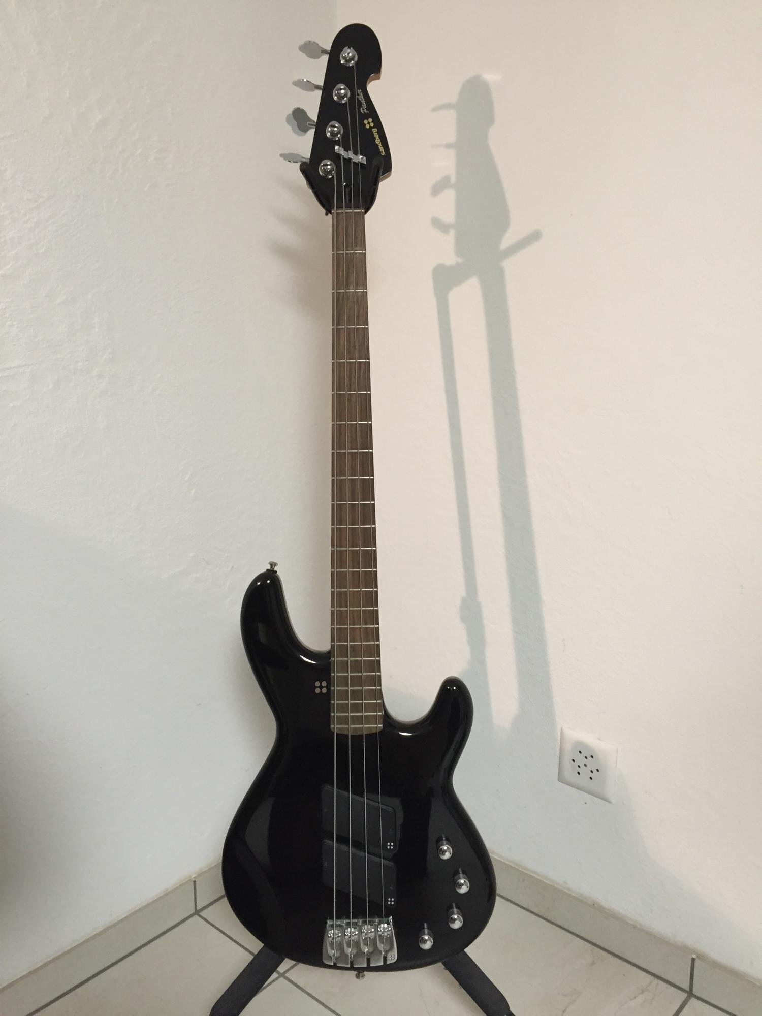 Sandberg Panther 4-string Black